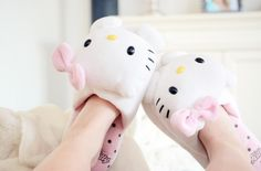 Pantuflas Hello Kitty!! ~♥