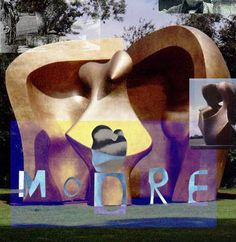 Home - Henry Moore - Modern Abstract, Organic Sculpture