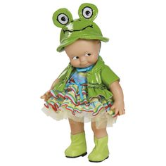 Kewpie Doll Froggy 8 inches vinyl $36.95 available at onegreatshop.com