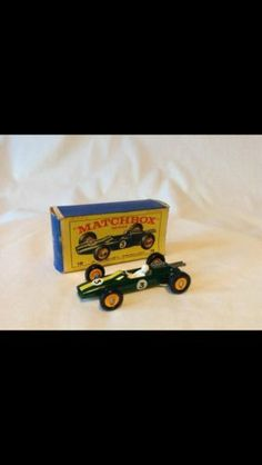 Matchbox No.19 Lesney Lotus Green Racing Car Mint Condition. Rare. Collectable. - http://www.matchbox-lesney.com/?p=20580