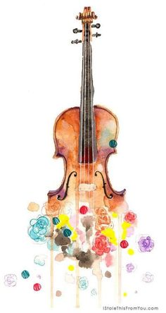 Find images and videos about art, music and violin on We Heart It - the app to get lost in what you love. Arte Cello, Violin Art, Violin Music, Violin Drawing, Violin Painting, Violin Tattoo, Violin Sheet, Sheet Music, Music Drawings