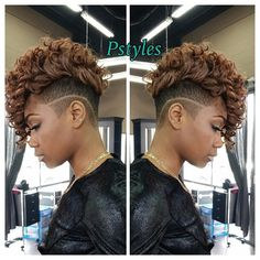 """""""Short quickweave w/ wand curls Nice tag team cut by @merothebarber & style by @phylliciagp  Team wrk makes the dream work  book today for all your…"""""""