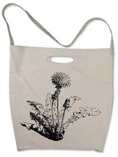 Supermaggie Dandelion Tote Bag