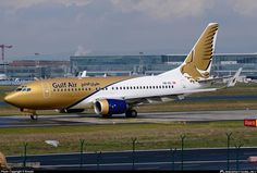 HB-IIQ Gulf Air Boeing 737-7CN(BBJ) taken 12. Apr 2012 at Frankfurt