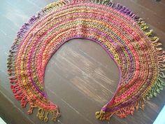 Com amor e linhas: Crescent Moon Shawl e o desafio dos gráficos de crochet