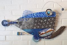 A personal favorite from my Etsy shop https://www.etsy.com/listing/543330888/blue-hula-no-45-fish-wall-art-reclaimed