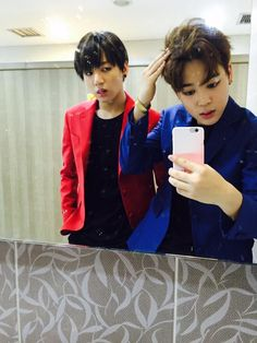 BTS Tweet - Jimin & Jungkook (selca)  150501 -- 활동 시작한지 이틀밖에 안됬지만 너무 즐겁네요  고마워요 아미  #INEEDU  -- [TRANS/BTS] It's only been two days since promotions started but they're really enjoyable Thank you ARMY #INEEDU  -- cr: BTS A.R.M.Y @BTS_ARMY