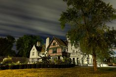 Willistead Manor By Night Photograph