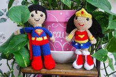 Superman & Wonder Woman -- Roonie Ranching