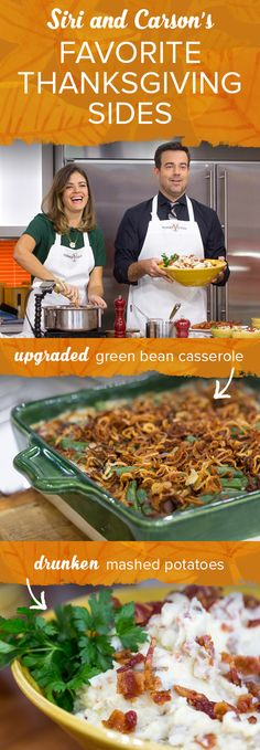 Update your Thanksgiving menu with these tasty side dishes!