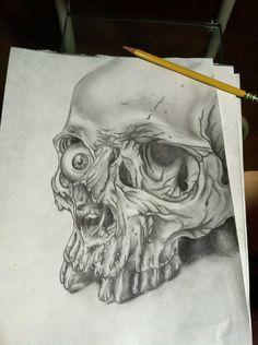 Skull+Drawings | skull drawing by ~gkarts661 on deviantART