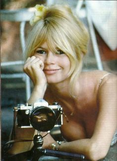 Obsessed with Brigette Bardot. #muse