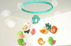 Móbiles para quarto de bebê
