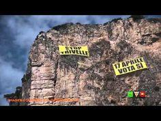 GREENPEACE In azione sulla Montagna Spaccata: Fermiamo le Trivelle con i...