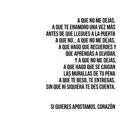 A que no me dejas - Alejandro Sanz