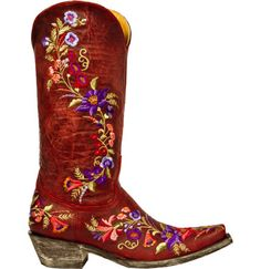 How pretty are these!! Old Gringo boots
