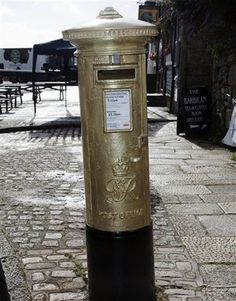 Winners - Royal Mail are painting the postbox closest to medal winners homes gold:-)