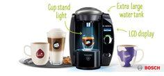 Buy BOSCH Tassimo Fidelia Plus TAS6515GB Hot Drinks Machine - Titanium | Free Delivery | Currys