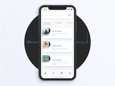 Music App Interaction invite iphone x mobile app after effects animation iphone iphonex xd ae ui ux gif motion app ios clean animations music Mobile App Design, Mobile Ui, Interaktives Design, App Ui Design, Flat Design, Gui Interface, Interface Design, Design Thinking, Motion Design
