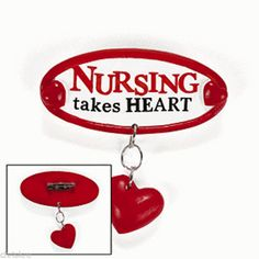 Nurse Nurses Nursing RN LPN Pin Brooch Broach Jewelry Graduation Gift USA Seller