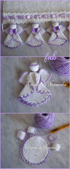 Crochet Circle Angel Free Patterns