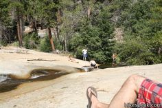#natural #water #slide in Giant Sequoia National Monument http://www.hikespeak.com/trails/water-slide-sequoia-national-monument/
