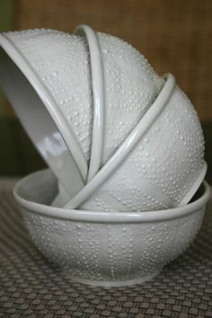 Sea Urchin Bowls, set of 4