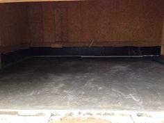 August 22, 2014 Garage Floor poured