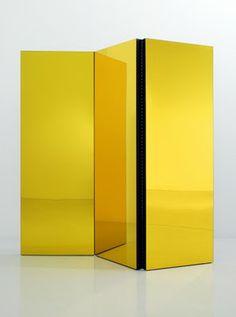 Semioses - Folding Screen (Yellow), 2003