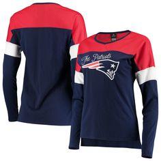 2c617681c New England Patriots Juniors Team Blocker Color Block T-Shirt Color
