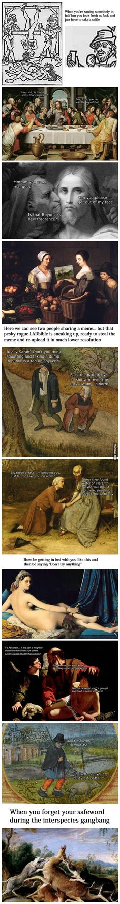 Classical Art Memes Latest (Part-3)