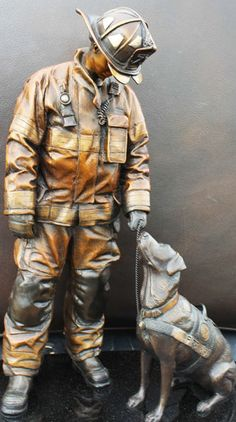 National Fire Dog Monument Arrives in D.C.