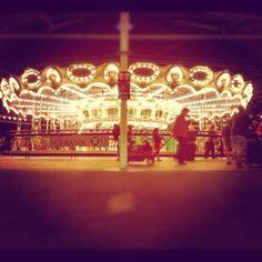 Kennywood Park: merry go round