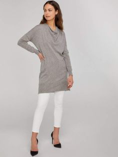 3a64f8a4701 Long Sleeve Turtleneck Cashmere Sweater Dress