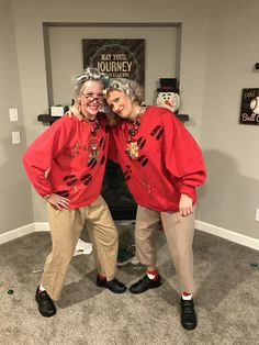 Ugly Christmas Sweater Champ Grandma Got Ran Over By A