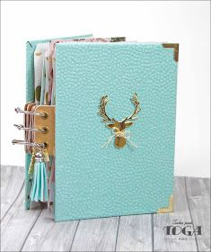 Mini Albums Scrapbook, Diy Scrapbook, Mini Books, Scrap Books, December Daily, Journal Inspiration, Blog, Notebook, Bullet Journal