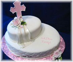 originales decoraciones de tortas de primera comunion en fiestaideas.com