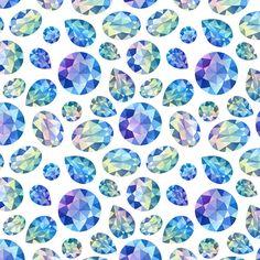 diamonds patterns by Natalia Tyulkina, via Behance