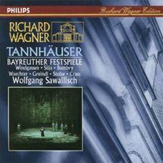 Tannhäuser [CD] : Òpera de Richard Wagner, en tres actes cantada en alemany. Estrenada al Teatre Reial de Dresden el 19 d'octubre de l'any 1845.