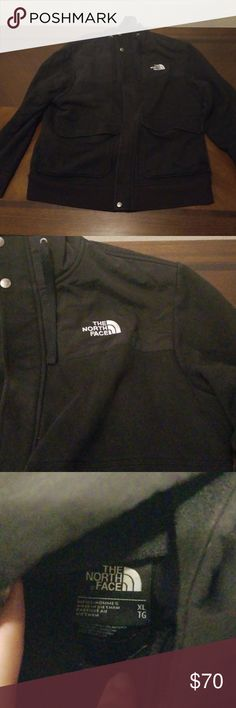 b96dbbd18 North Face Jacket Black north face fleece jacket. Never worn and in ...