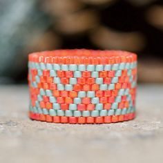 Custom Made Peyote Rings par PeyoteRings sur Etsy