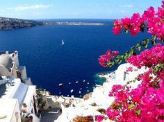 I'm going to Greece. Santorini Island, Santorini Greece, Corfu Greece, Beautiful World, Beautiful Places, Amazing Places, Beautiful Scenery, Amazing Hotels, Beautiful Eyes