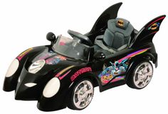 2013 New Hot Batman Batmobile Kids Ride on Car 6v 10Ah Battery Power R/c Wheels. Expensive at $400 but maybe someday :)