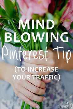 If you haven't delved into the power of Pinterest's ability to increase traffic and boost your business then this simple solution will be a big help! It's so incredibly simple you'll wonder why you hadn't thought of it long ago!!