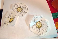 JaneVille: Tiny Tutorial: Reusing your own drawings in collage or quilts