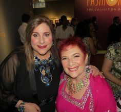 Katerina Musetti and Harrice Miller. Fashion Jewelry: The Collection of Barbara Berger, Museum of Arts and Design - NYC.