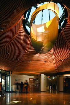 ArchGo! 加拿大,温哥华植物园游客中心/ Perkins+Will