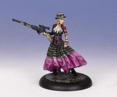 Abigale, Steampunk Hunter from Cool Mini or Not