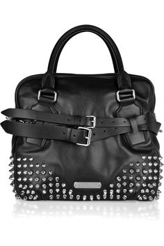 Burberry Studded Leather Bowling Bag ! I'll join a bowling league for sure!
