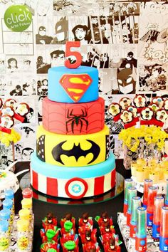 Party Inspirations: Calling All Super Heroes! by Doce Dia
